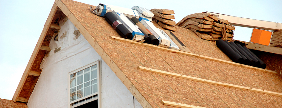 New roofing construction