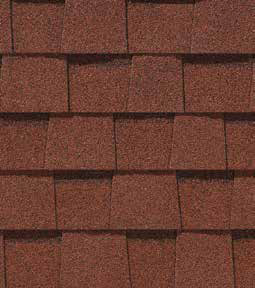 Cottage red shingle color