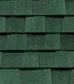 Hunter green shingle color