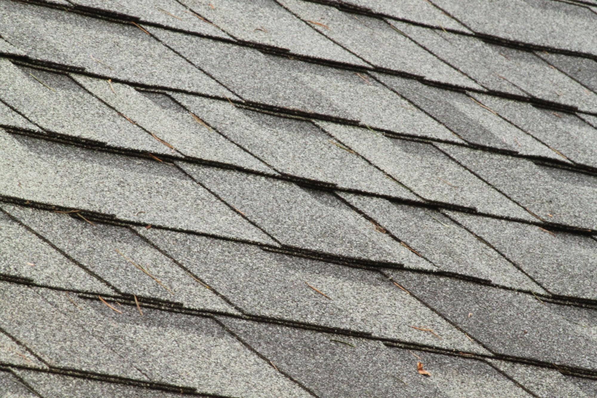 Shingles on roof