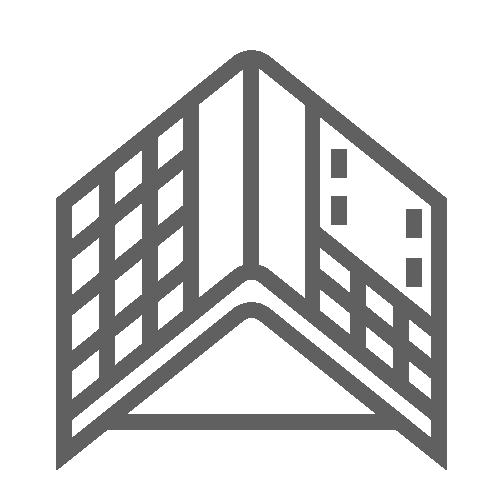 Tarp over roof icon