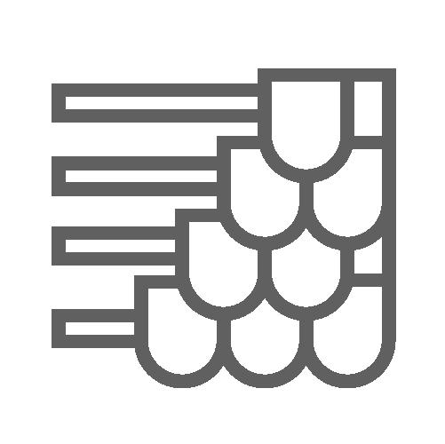 Roof underlayment icon