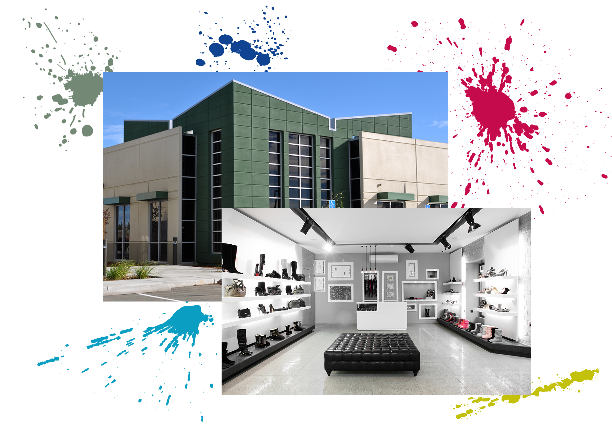 COMMERCIAL INTERIOR & EXTERIOR PAINTING SERVICES