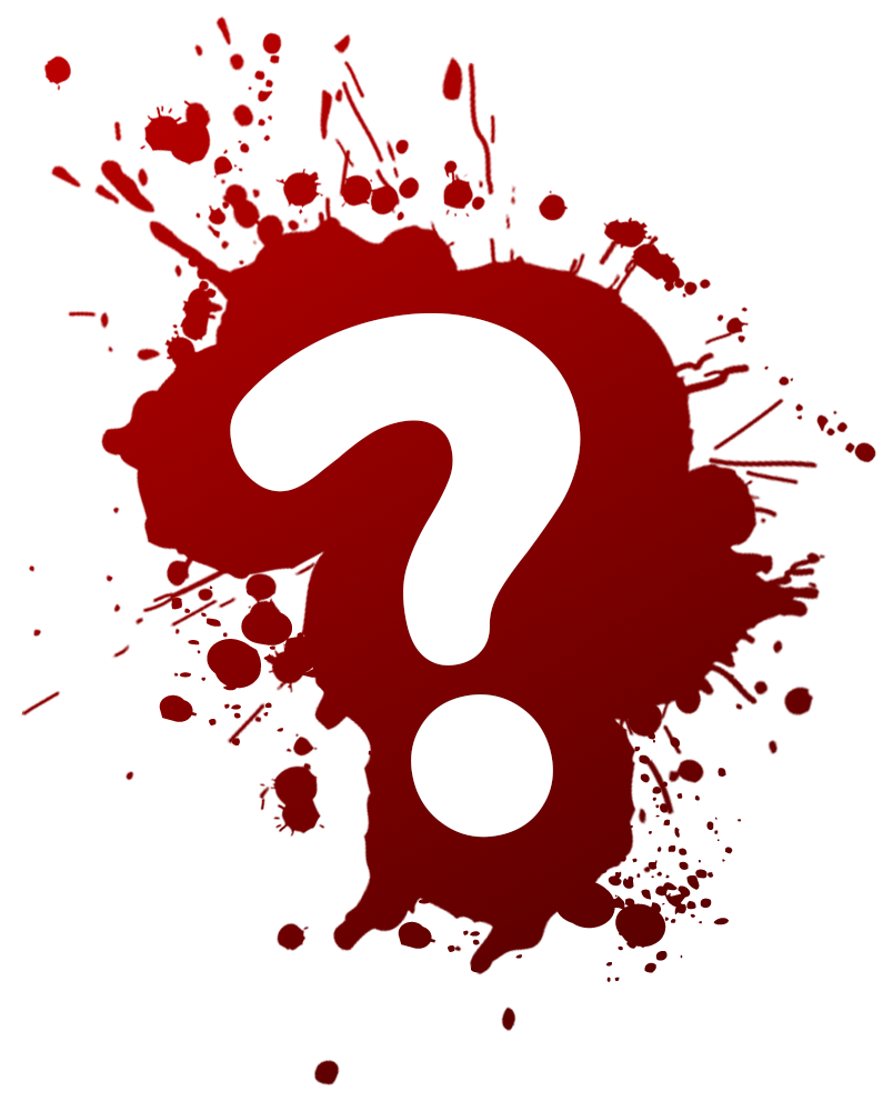 Question Mark in Paint