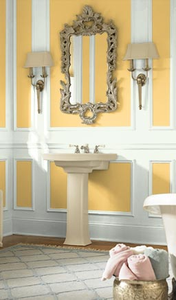 yellow jubile bathroom